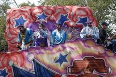 Mardi Gras Float arkivbilder