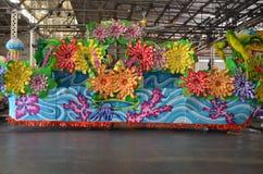 Mardi Gras Float New Orleans, Louisana lizenzfreie stockbilder