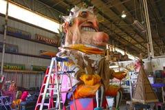 Mardi Gras Float Prop lizenzfreie stockfotos