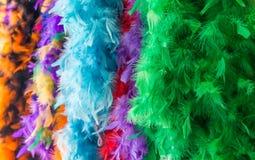 Mardi Gras garneringar i New Orleans, LA Arkivfoton
