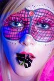 Mardi Gras Girl Royalty Free Stock Image