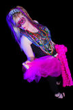 Mardi Gras Girl Royalty Free Stock Photo