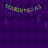 Mardi gras greetings Stock Photo