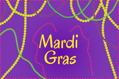 Mardi Gras holiday thematic picture Stock Photos