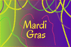 Mardi Gras holiday thematic picture Royalty Free Stock Photo
