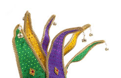 Mardi Gras Jester Mask Crown Royalty Free Stock Photo