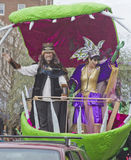 Mardi Gras King and Queen of Misrule Stock Photo