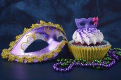 Mardi Gras-kleine Kuchen lizenzfreie stockfotografie