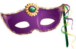 Mardi_Gras_mask Imagens de Stock
