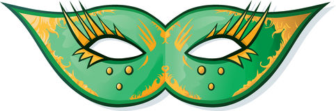 Mardi Gras Mask. Mask for a costumed ball or mardi gras