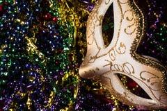 Mardi Gras Mask Fotografía de archivo
