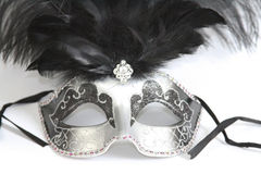 Mardi Gras Mask Stock Foto's