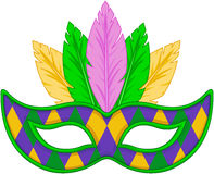 Mardi Gras Mask Imagem de Stock Royalty Free