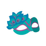 Mardi Gras Mask Immagine Stock Libera da Diritti