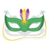 Mardi Gras Mask Fotografia Stock