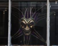 Mardi Gras Mask - Farbe Lizenzfreie Stockfotos