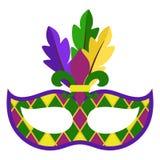 Mardi Gras Mask royalty free stock images