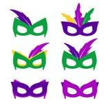 Mardi gras mask,  mardi gras masks Royalty Free Stock Photography