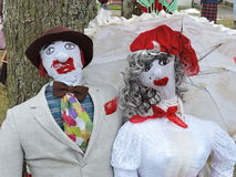 Mardi Gras mask. The married pair, Lithuania