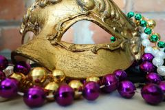 Mardi Gras mask Stock Images