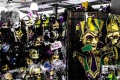 Mardi Gras Mask Sale lizenzfreies stockfoto
