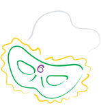 Mardi Gras mask2 Royalty Free Stock Images