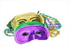 Mardi Gras maskerar Royaltyfri Fotografi