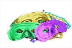 Mardi Gras maskerar Royaltyfri Bild