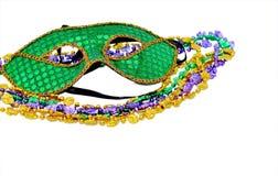Mardi Gras maskerar Arkivfoto