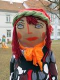 Mardi Gras maskering-kvinna Arkivfoto