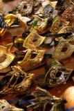 Mardi Gras maskeringar arkivbild