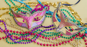 Mardi Gras Masks Royalty Free Stock Photos