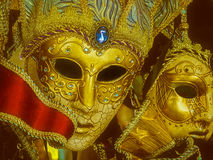 Mardi Gras Masks Royaltyfri Bild