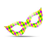 Mardi Gras Masks Images libres de droits