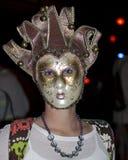 Mardi Gras Masque Arkivbild