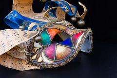 Mardi gras masques Stock Photo