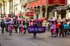 Mardi Gras New Orleans royaltyfria foton