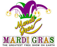 Mardi Gras New Orleans Jester Hat Stock Photos