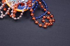 Mardi Gras Orange Stock Photography