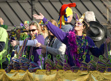 Mardi Gras Parade Royalty Free Stock Photo