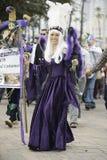 Mardi Gras Parade Fotografering för Bildbyråer