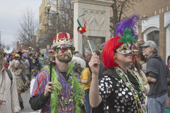 Mardi Gras On Parade Royalty Free Stock Photography
