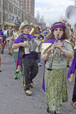 Mardi Gras Parade Band Royalty Free Stock Images