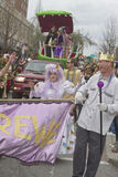 Mardi Gras Parade Romp Stock Photos