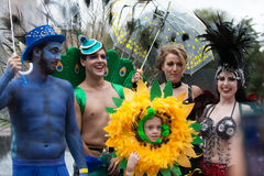 Mardi Gras Parade Sydney 2014 Royalty Free Stock Photos