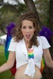 Mardi Gras Parade Sydney 2014 Fotografering för Bildbyråer