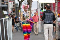 Mardi Gras Parade Sydney 2014 Royaltyfri Fotografi