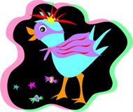 Mardi Gras Party Bird Royalty Free Stock Images