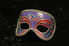 Mardi Gras Party Mask Stock Photo