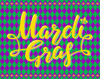 Mardi Gras Party Poster Image libre de droits